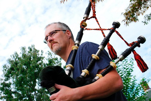Surrey piper shares top 10 most popular tunes played on bagpipes