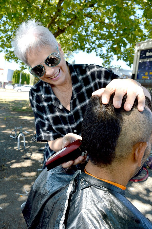 Hidden Heroes Why A Surrey Grandmother Gives Haircuts To Homeless