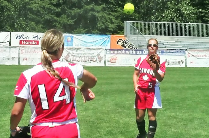 National Team Begins Gold Rush At Softball City For 2014 Canadian Open