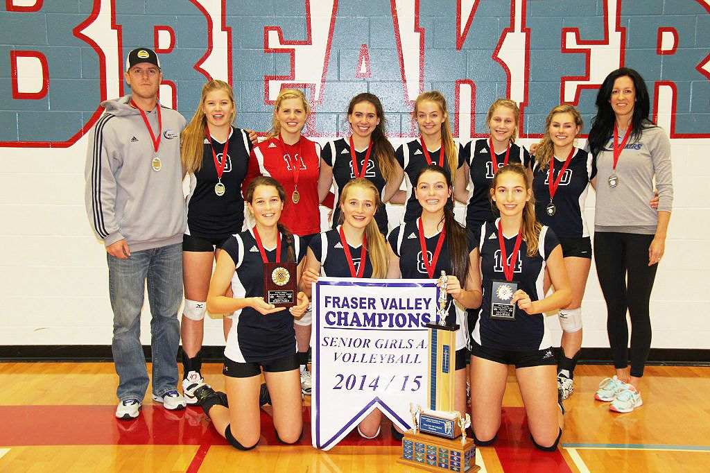 Volleyball Breakers Become A Dynasty For Surrey S Pacific Academy Surrey Now Leader