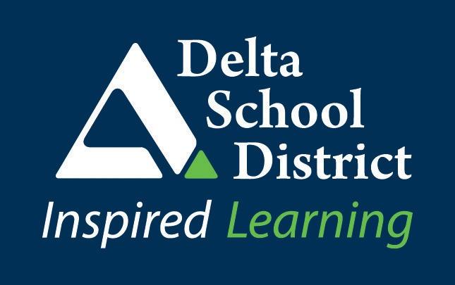 Image result for delta school district logo