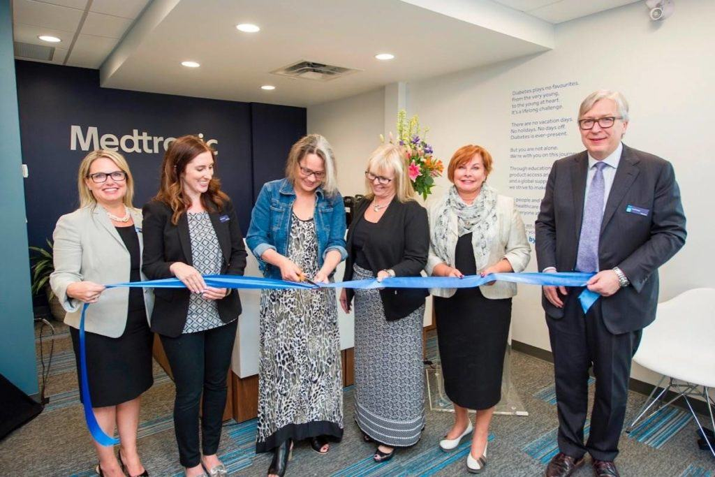 Canada's first Medtronic diabetes resource centre opens in