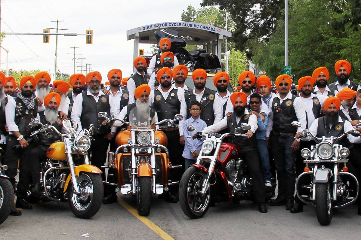 sikh motorcycle club rides to save our kids at rally in surrey today surrey now leader. Black Bedroom Furniture Sets. Home Design Ideas