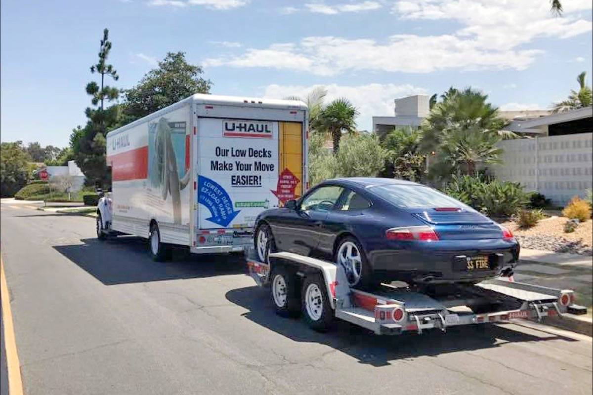 Porsche, moving truck stolen from South Surrey parking lot – Surrey