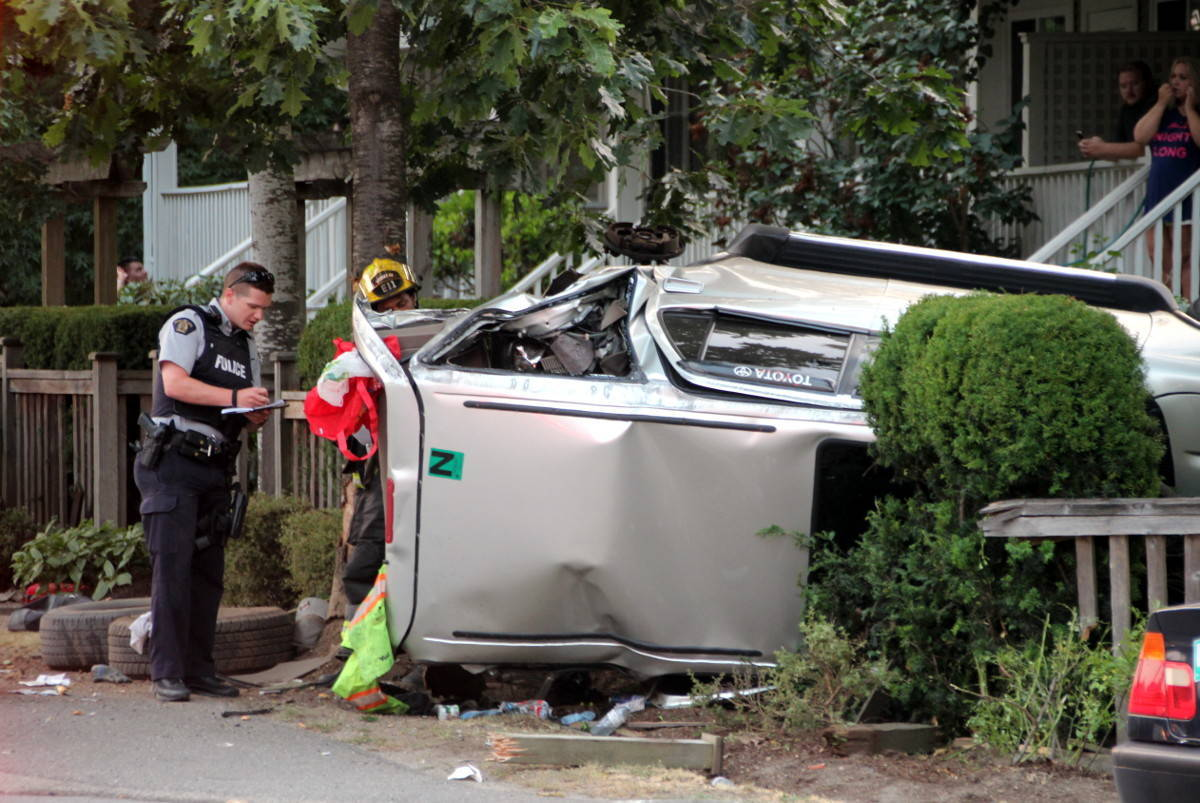 Car accidents on the rise in Surrey - Surrey Now-Leader