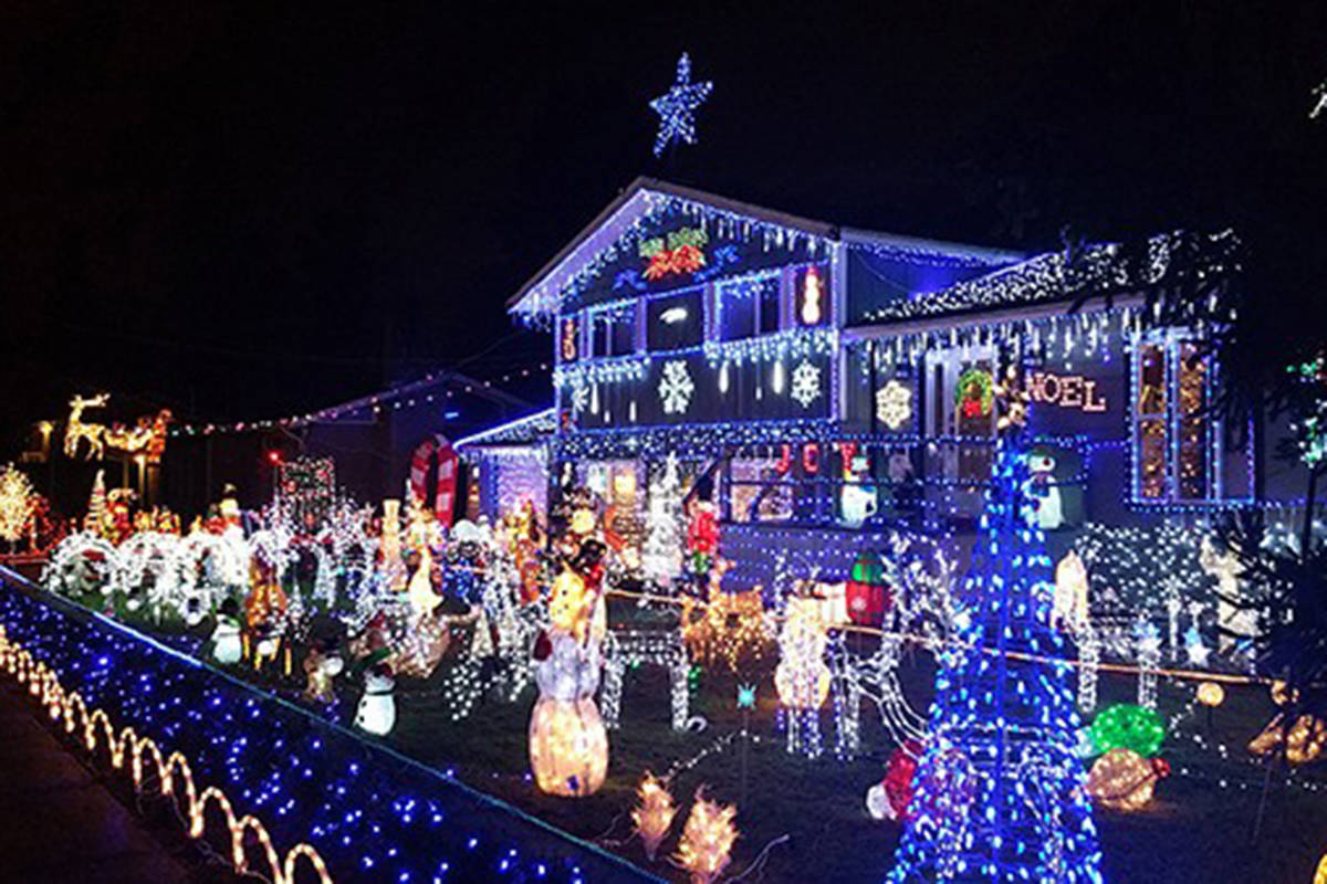 Christmas Light Displays In Surrey And
