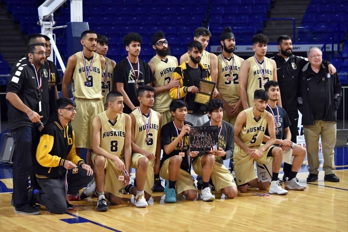 North Delta Secondary Huskies take bronze at BC High School
