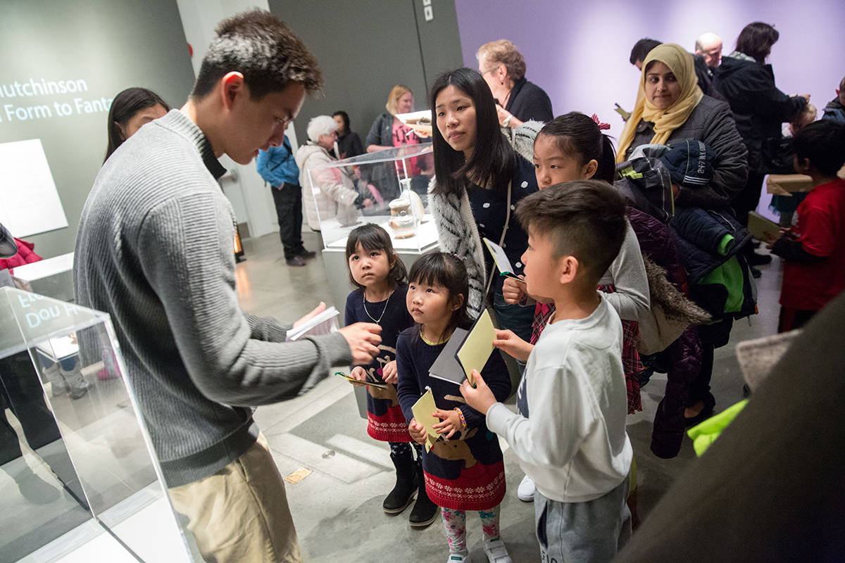 Free 'Family Sunday' event focuses on Surrey Art Gallery's 'Many Visions,  Many Versions'
