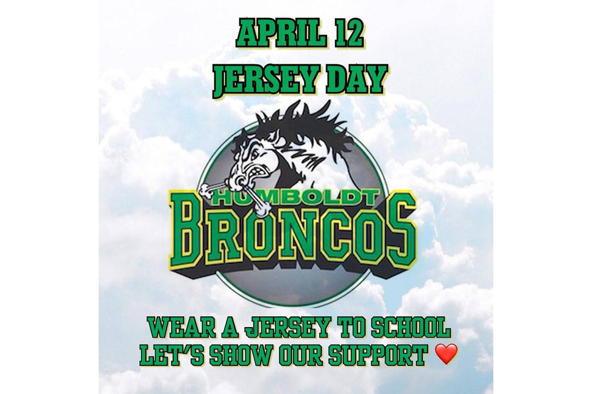 B.C. hockey moms  jersey campaign supports Broncos – Surrey Now-Leader 39c3247d256