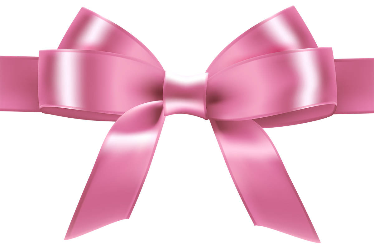 human pink ribbon created at surrey park and bras welcomed too