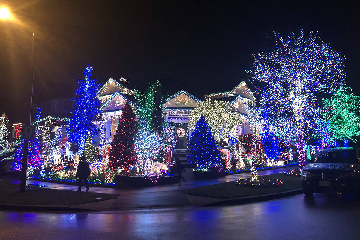 timeless design 4a1de 553bf MAP: Christmas light displays in Surrey, Langley and beyond ...