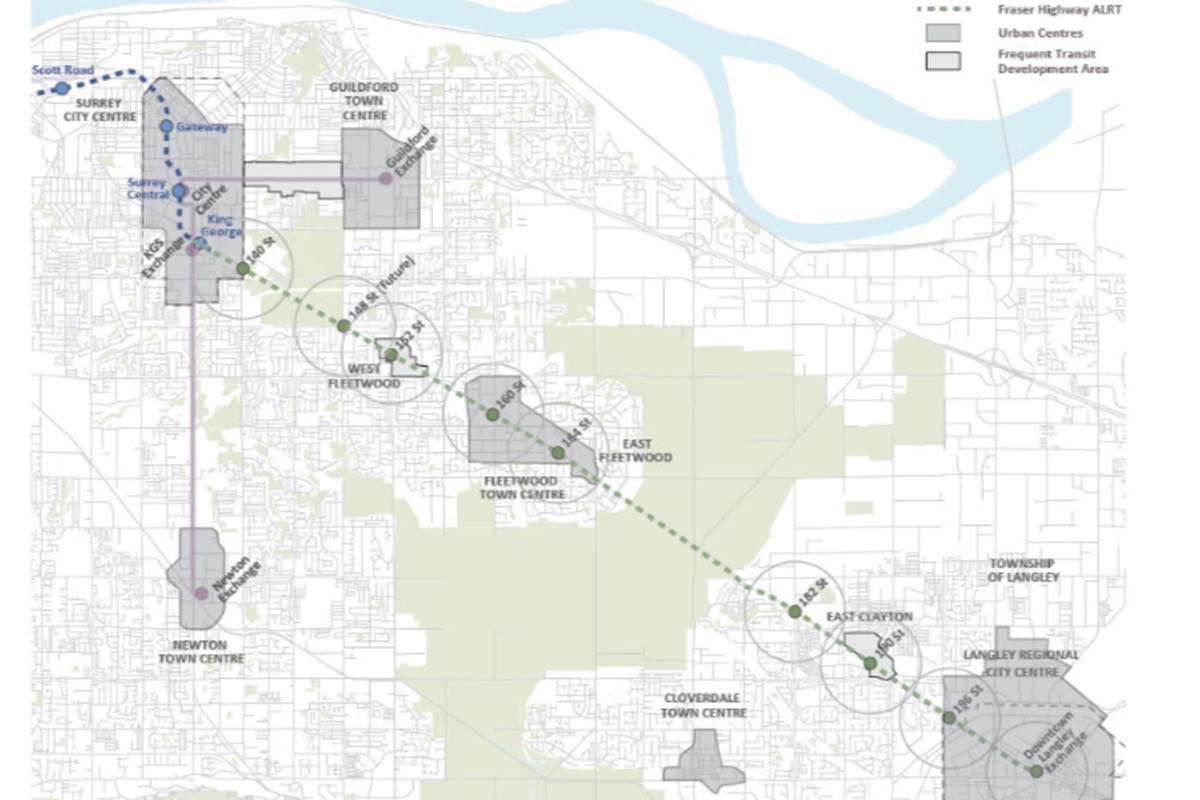 Translink Reveals New Plans For Proposed Surrey Langley