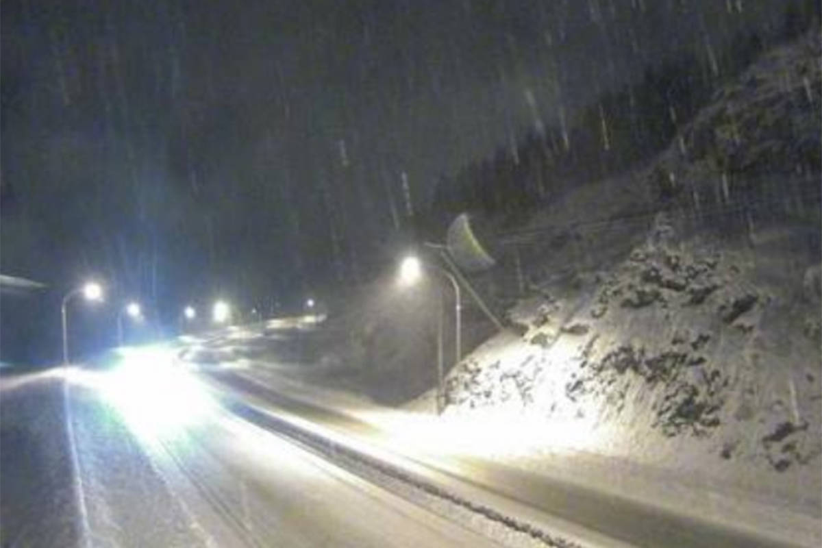 Winter storm warning issued for Coquihalla highway – Surrey