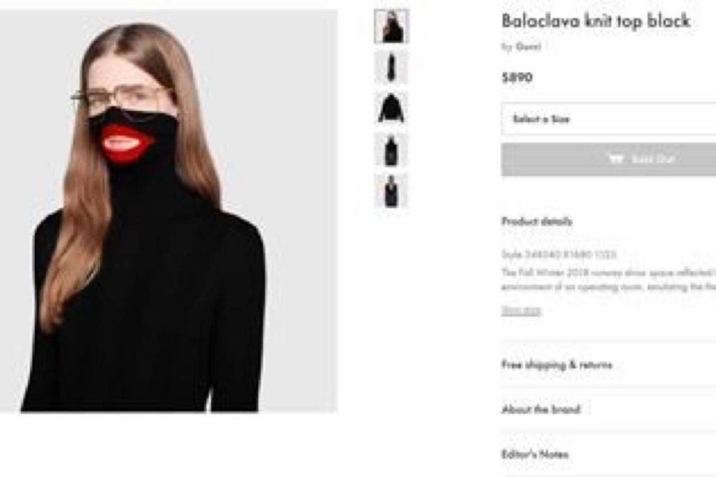 a79e5c4e374ca Gucci pulls  blackface sweater  from stores after complaints – Surrey  Now-Leader