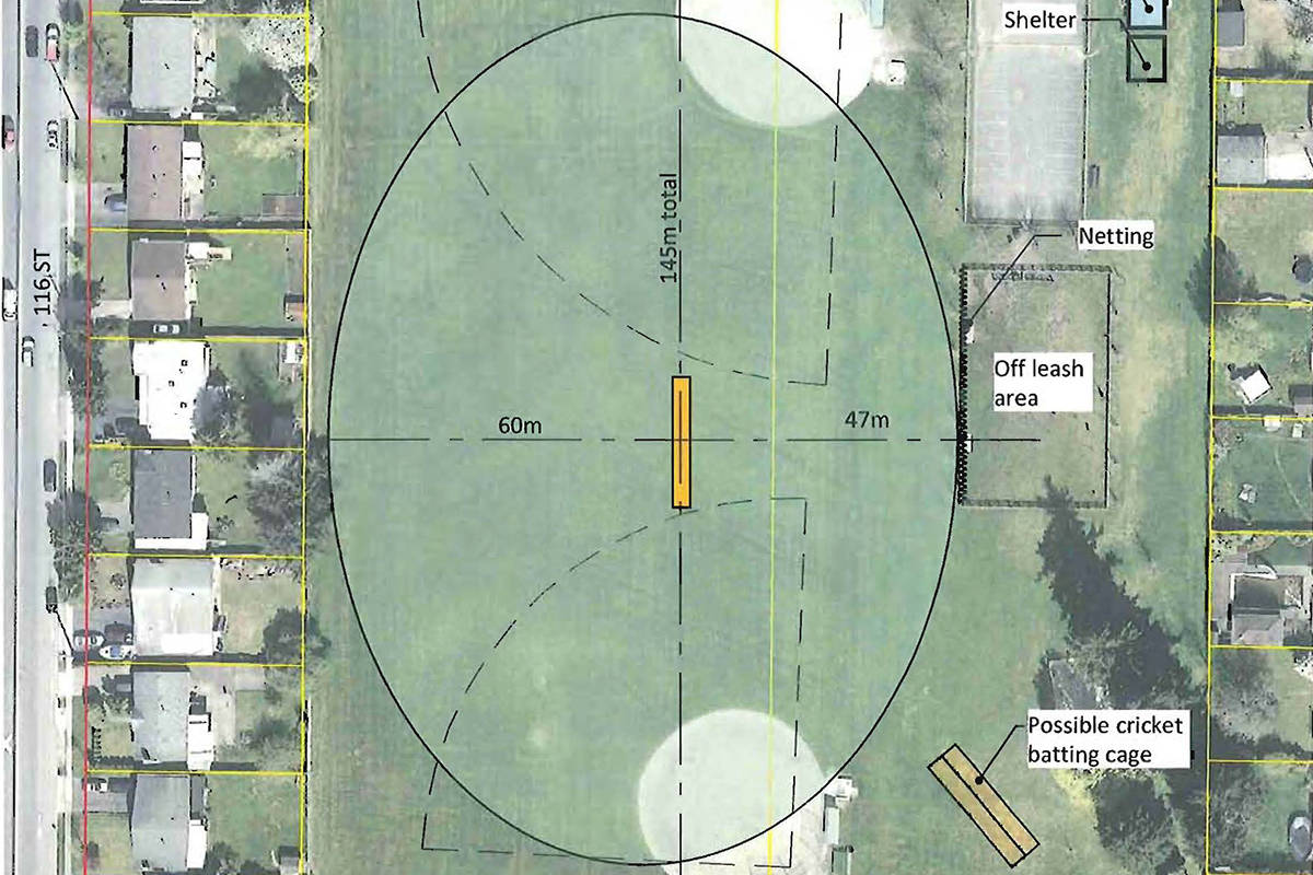 Delta's first cricket pitch slated for Delview Park – Surrey Now-Leader