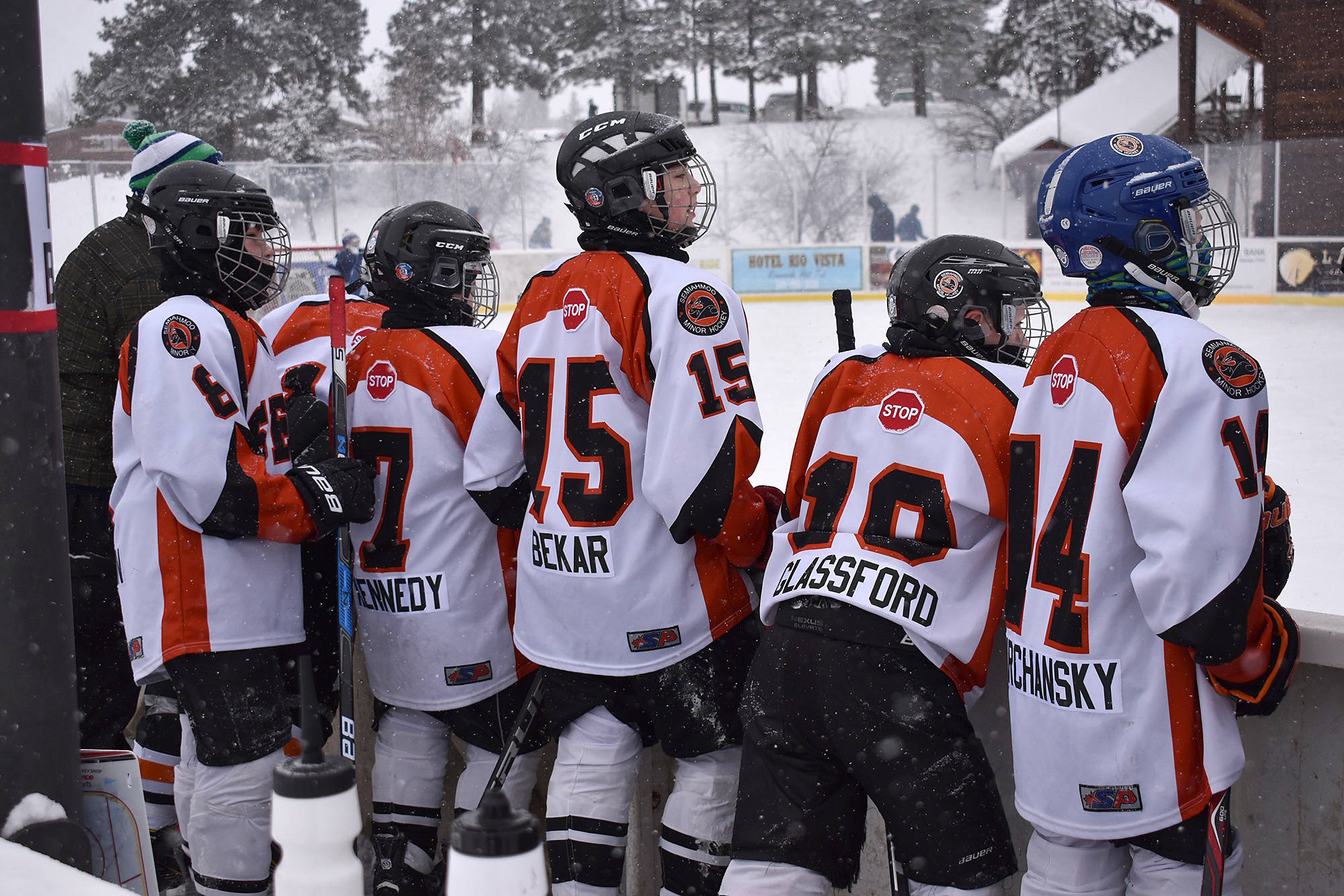 6ad5509b0d 'Cool' outdoor experience for Semiahmoo Ice Breakers – Surrey Now-Leader