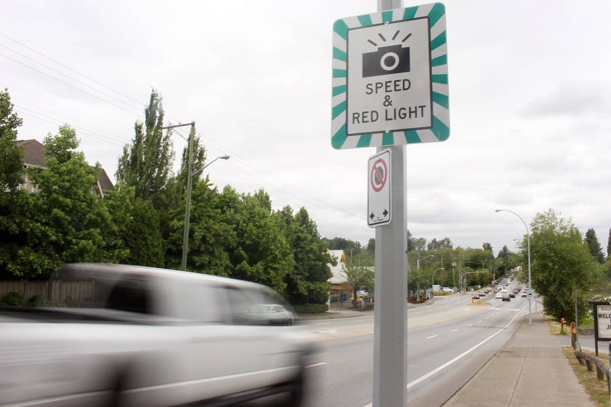 Province starts testing speed cameras in Surrey
