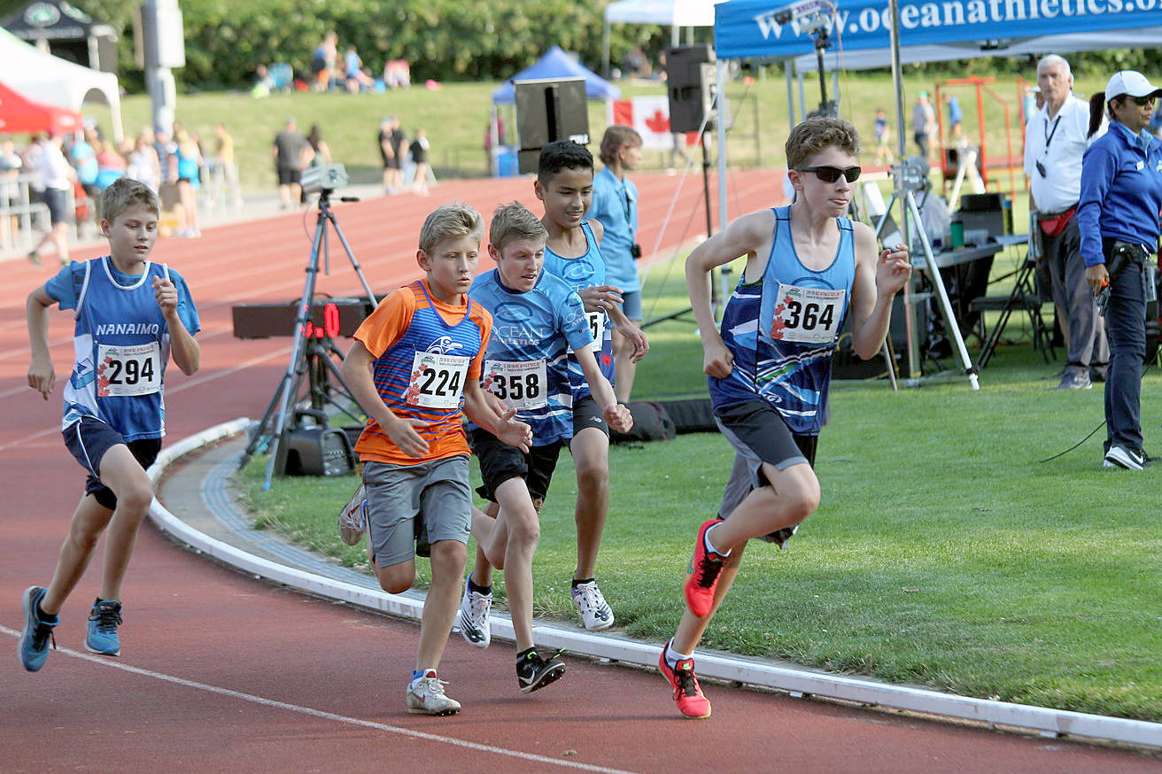 Record-breaking weekend for South Surrey track-and-field athletes