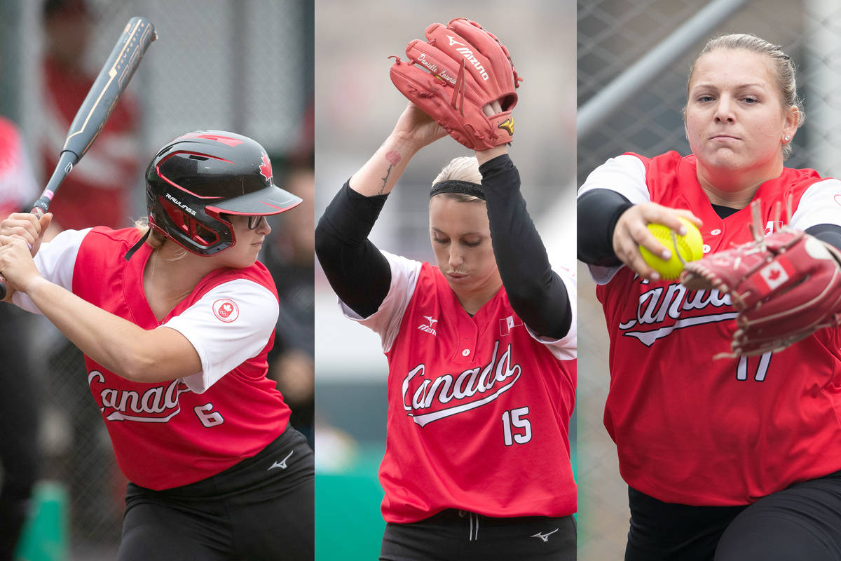 Surrey, White Rock players lead Canada to softball silver at Pan Am Games