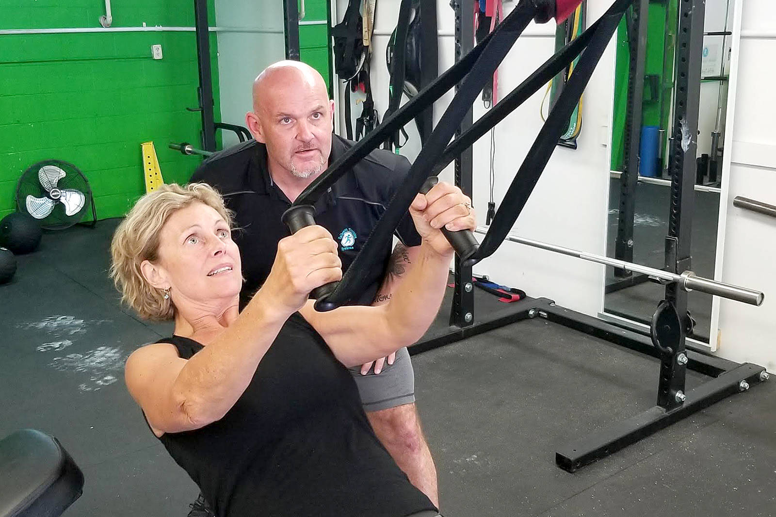 South Surrey woman promotes exercise to help fight Parkinson's disease