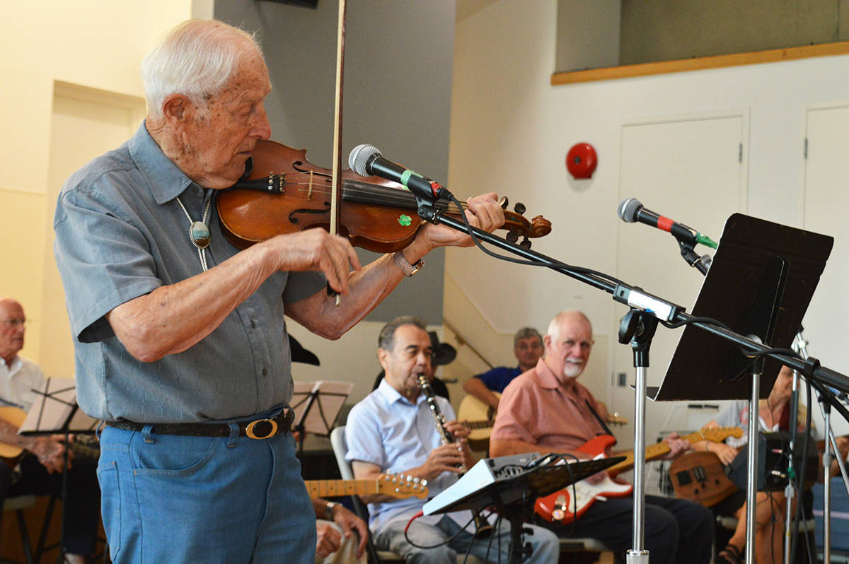 PHOTOS: Surrey seniors band together at weekly jam sessions