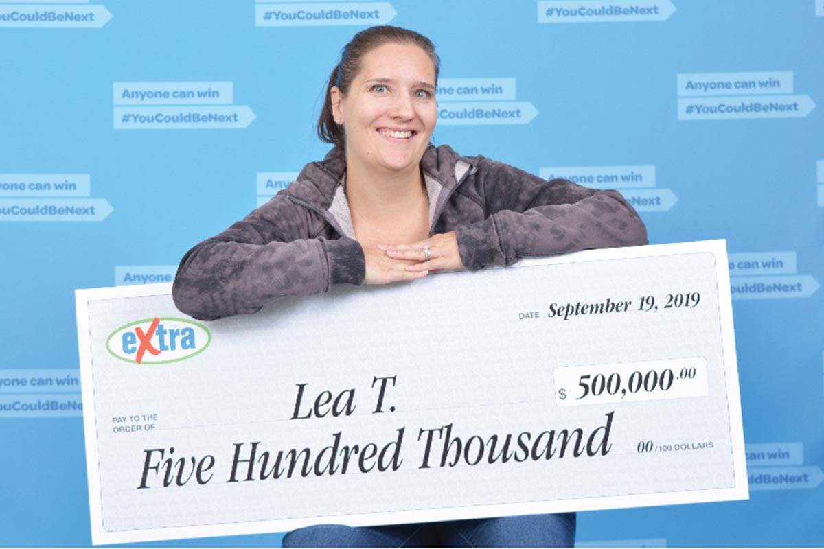 $500K richer in lottery win, Surrey mom plans to buy townhouse for family