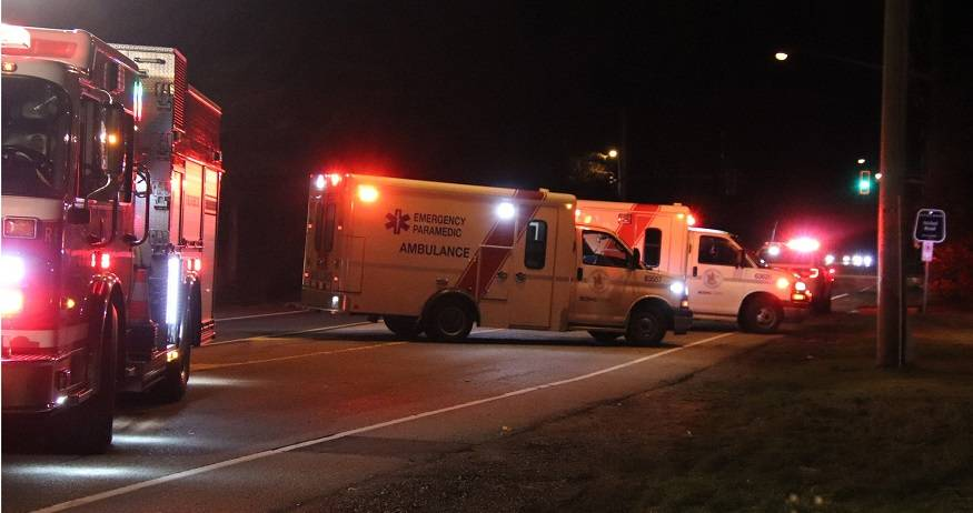 Man in critical condition after South Surrey collision - Surrey Now-Leader