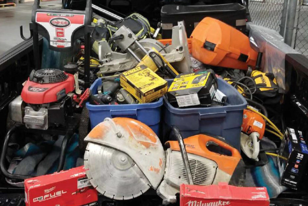 Surrey RCMP recover $80,000 worth of stolen property - Surrey Now-Leader