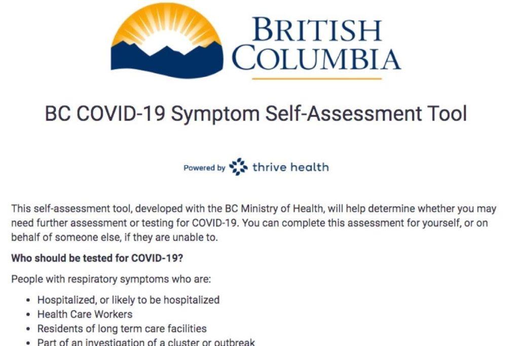 Coronavirus Self Assessment Soars In B C 1 888 Covid19 Line Picking Up Surrey Now Leader
