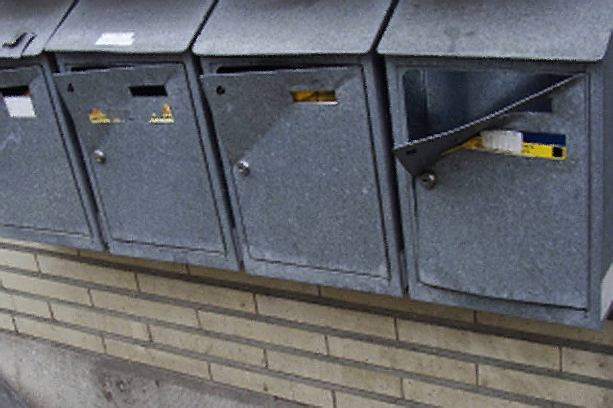 Delta Police Report Spike In Mail Thefts Surrey Now Leader