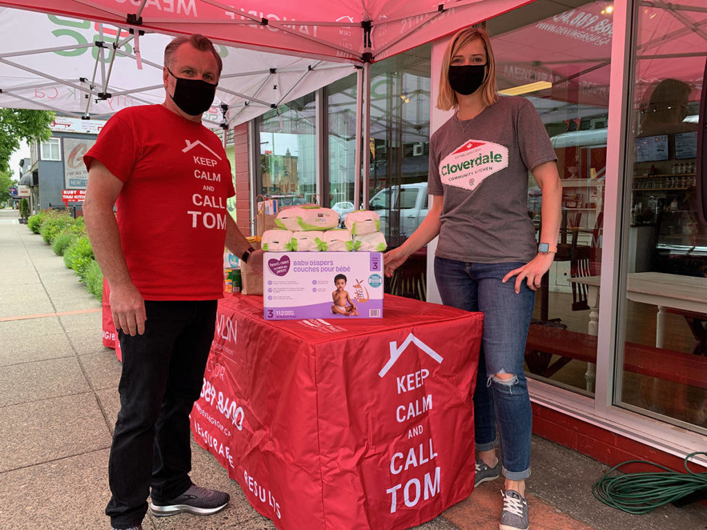 Cloverdale food drive supports Fraser Valley Regional Food Bank - Surrey Now-Leader