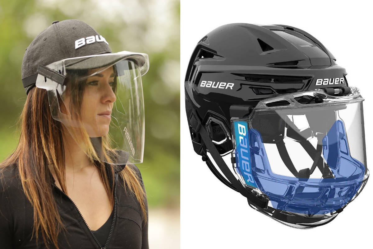 Bauer Unveils Protective Masks For Hockey Players Options For Fans Surrey Now Leader