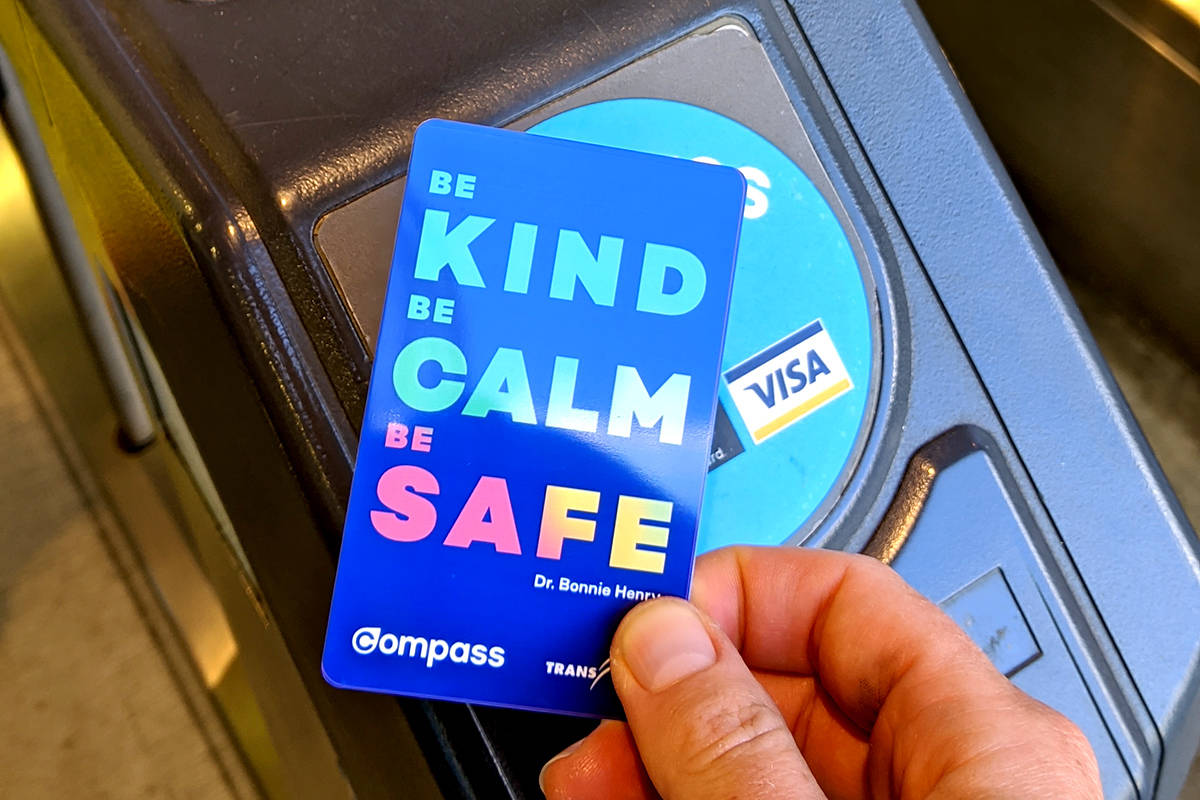 TransLink launches limited edition Dr. Bonnie Henry Compass cards for fall  – Surrey Now-Leader