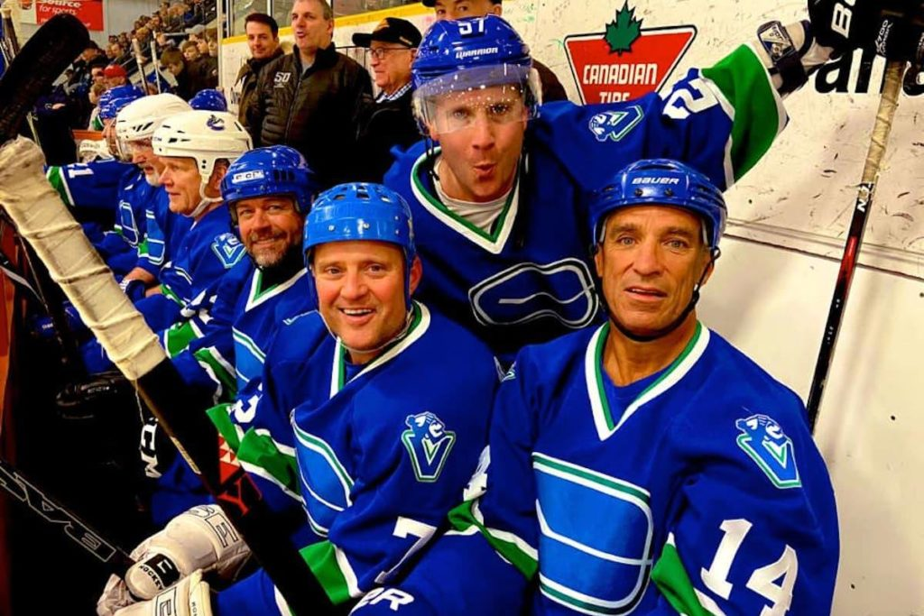 Canucks alumni players move their weekly scrimmages to Surrey's newest hockey rink - Surrey Now-Leader