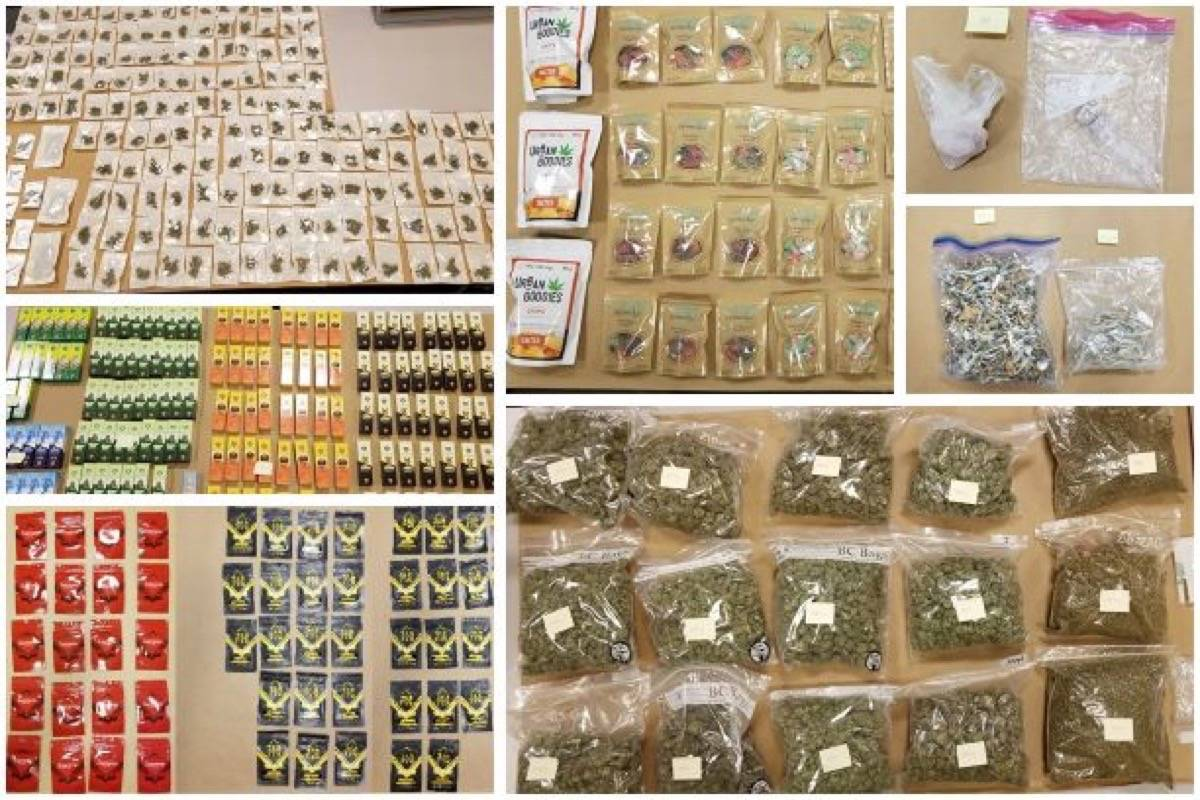 surrey rcmp bust cannabis operation, seize items including thc-infused  potato chips – surrey now-leader  surrey now-leader