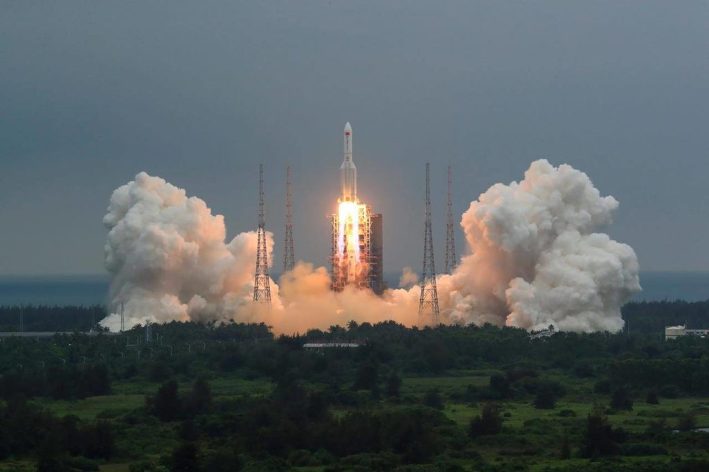 China discounts possibility of harm from its out-of-control falling rocket - Surrey Now-Leader