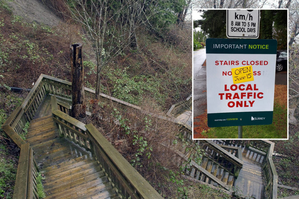 South Surrey's beach-access stairs set to reopen - Surrey Now-Leader