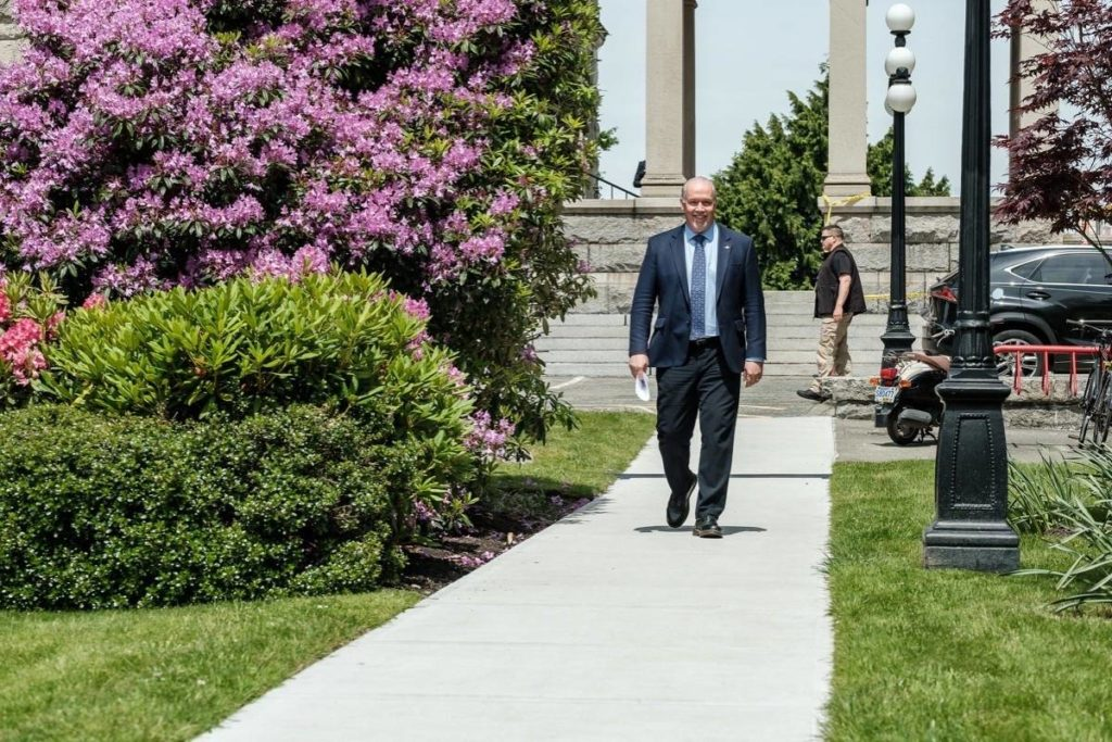 B.C. premier roasted for office budget, taxing COVID-19 benefits - Surrey Now-Leader