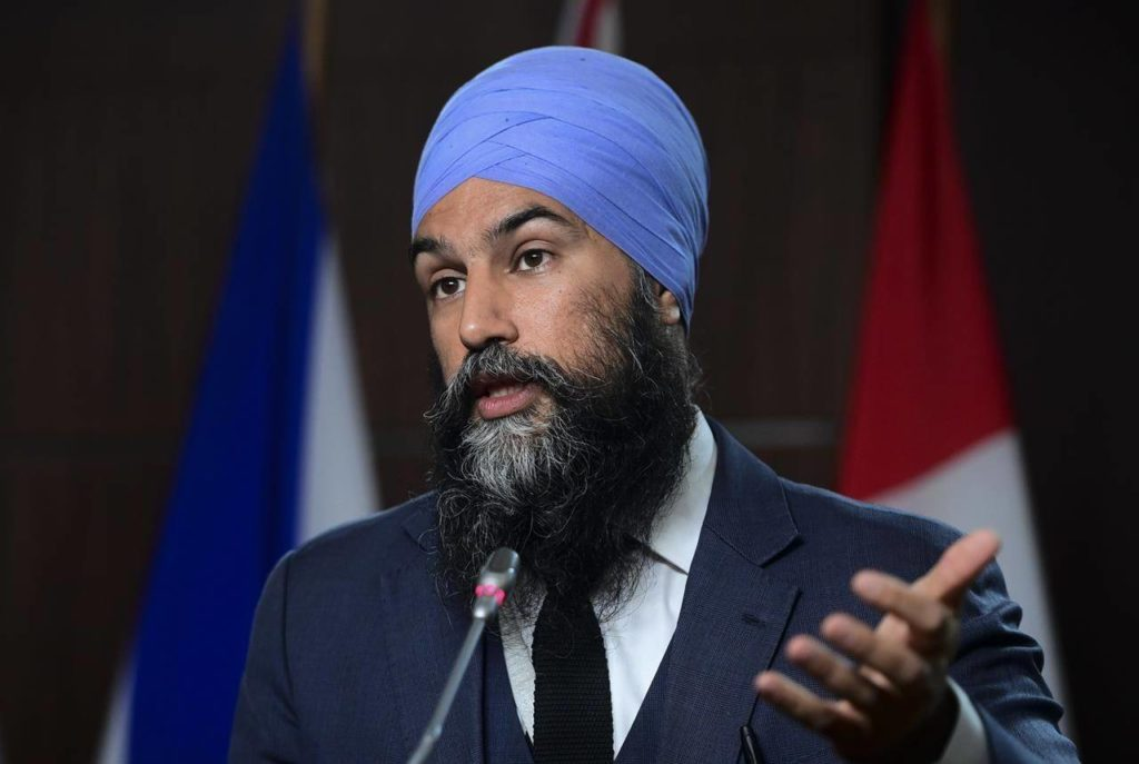 Jagmeet Singh says NDP would tackle Canada's deficit through taxing the 'ultra rich' - Surrey Now-Leader