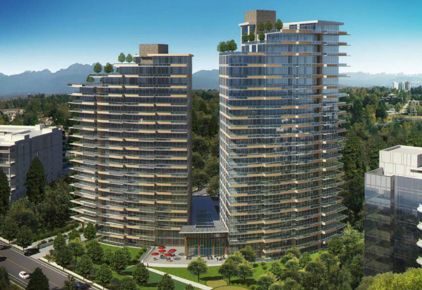 White Rock council grants development permit to two-tower Oxford Street project - Surrey Now-Leader